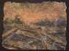 german invasion of france Adolf Hitler railroad tracks painting