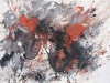 apocalypse 7 Apocalypctic abstract painting on paper by Erick Sanchez