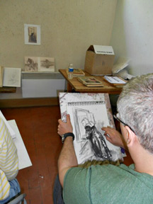 Drawing at the Marchutz Atelier