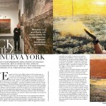 Erick Sánchez exhibition and artwork reviewed in Imagen Magazine